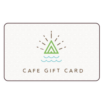 "Amavida Coffee Roasters brand logo with text ""Cafe Gift Card"""