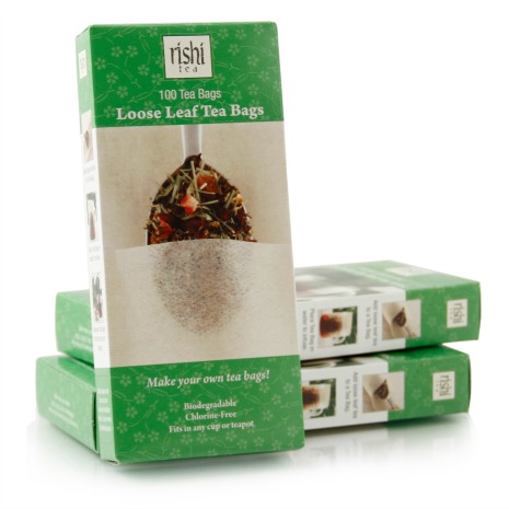 Loose Leaf Tea Bags from Rishi