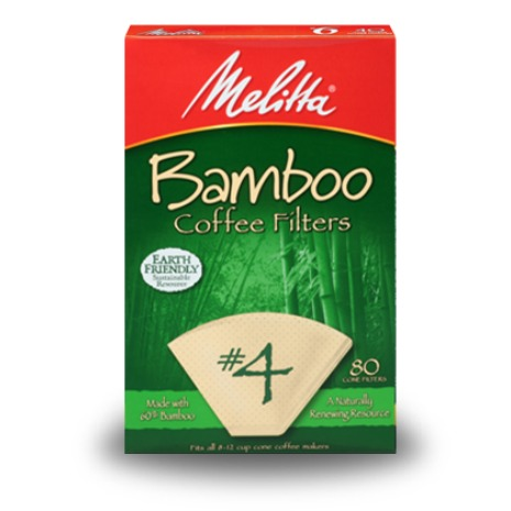 Melitta Coffee Bamboo Coffee Filters