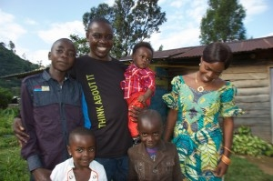 Coffee Producer Family in the DRC