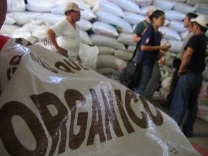 Organic coffee cooperative.