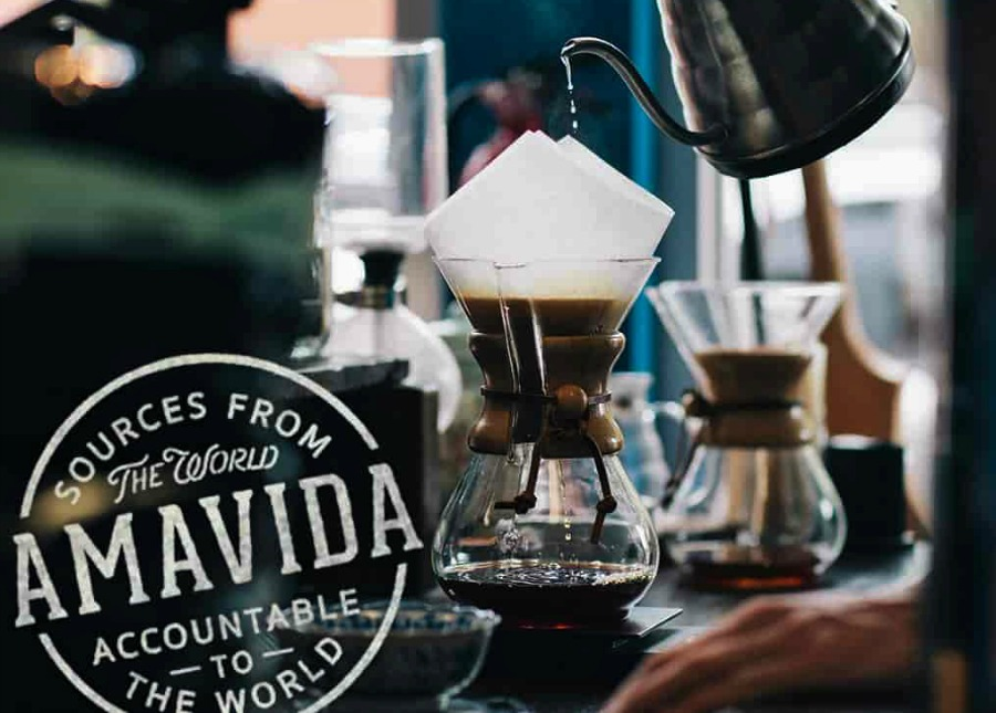 At Amavida Coffee Roasters, we're brewing and serving the best organic coffee and great organic tea one chemex pour and kettel at a time.Try some today!