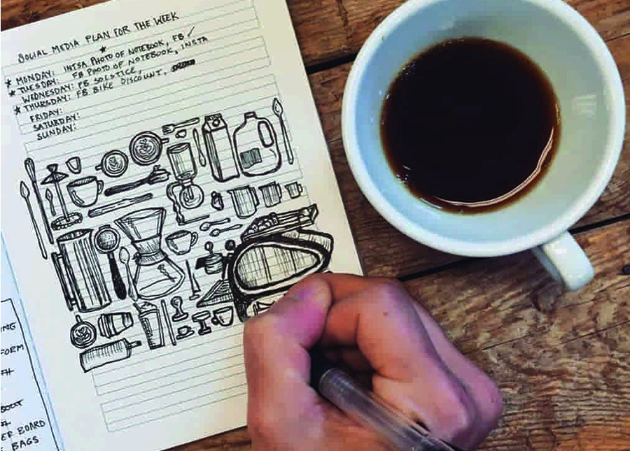 We offer enough coffee merchandise to fill an entire notebook! At Amavida Coffee Roasters we sell more than just the best organic coffee.