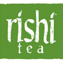 Rishi Tea, a sustainable brand with specialty teas.