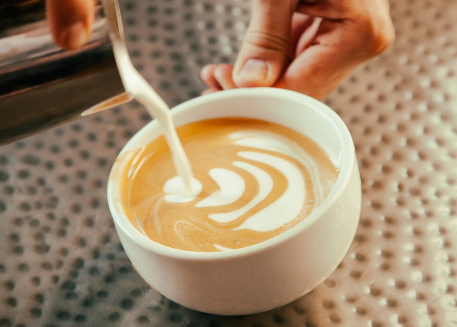 Create latte art using the best brew equipment for your espresso bar or coffee house with wholesale partner, Amavida Coffee Roasters.