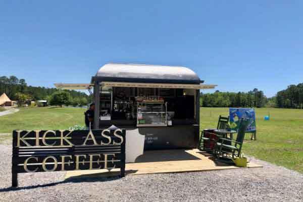 Kick Ass Local Coffee near Freeport Florida