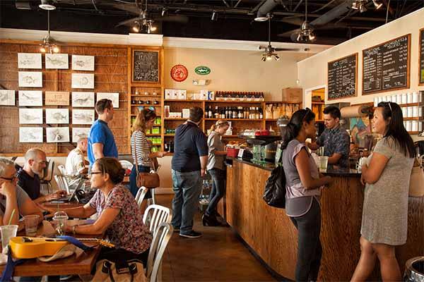 Amavida Coffee's St Andrews Coffee Shop near Panama City FL.
