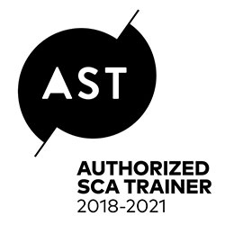 SCA Authorized Trainer logo 2018-2021