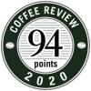 Coffee Review awards 94 points to Amavida Coffee Roasters for Best Ethiopian Yabitu Koba
