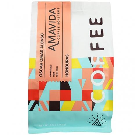Amavida Coffee Roasters 12 oz bag of Oscar Omar Alonzo, Microlot Honduras Coffee