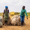 Impact Partners at Taka Take solutions in Kenya, recovering plastic waste for a Zero-plastic footprint.