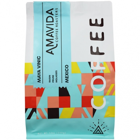 12 oz bag of the best Organic Mexico Coffee From Maya Vinic in Chiapas
